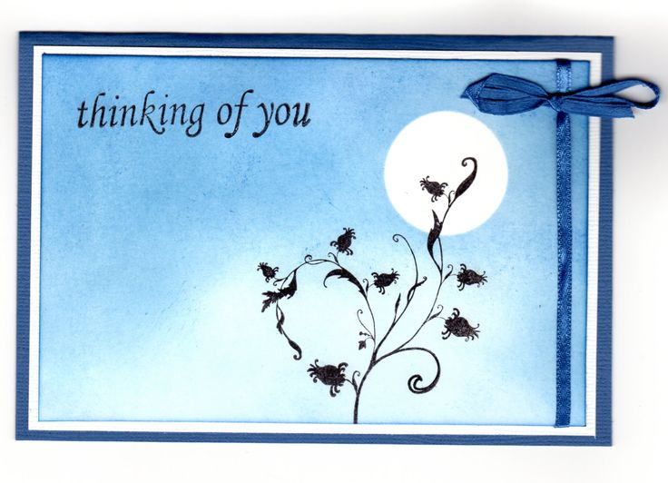 Handmade card - inked and stamped with Heidi Grace Stamp.