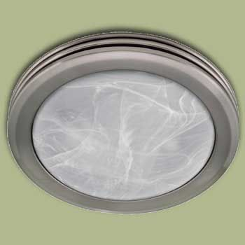 Shower Fan Light Hunter 90053 Saturn Bathroom Exhaust Fan And Light Flush Mount