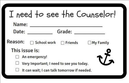 School Counselor Referral Form-Counsel&Create