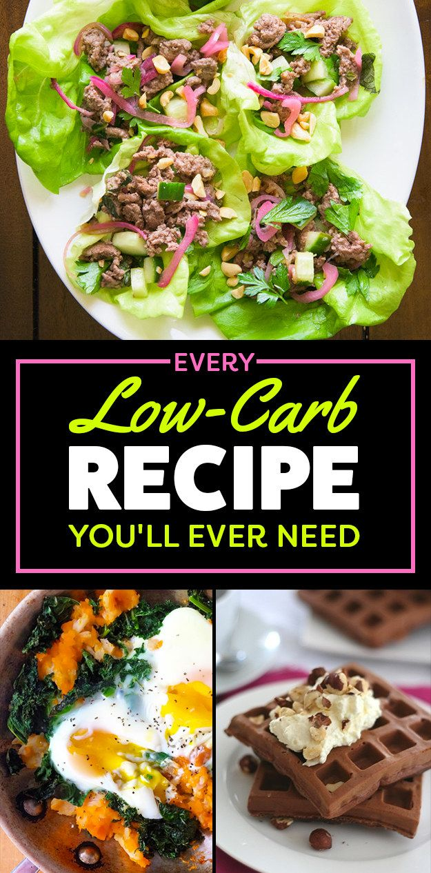 103 Essential Low-Carb Recipes For Breakfast, Lunch, And Dinner