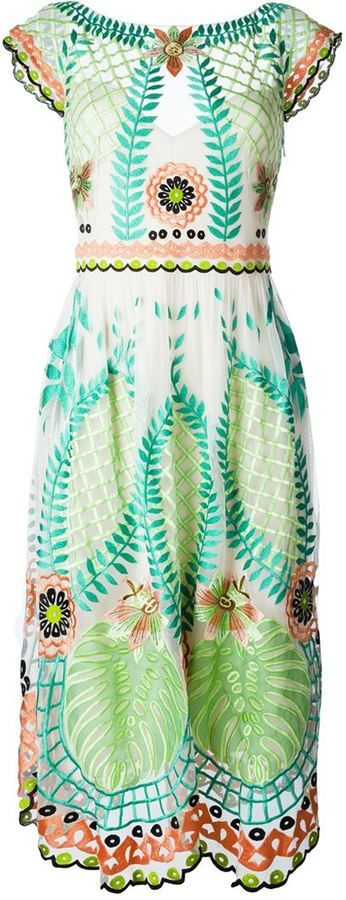 Temperley London 'Belle' embroidered dress
