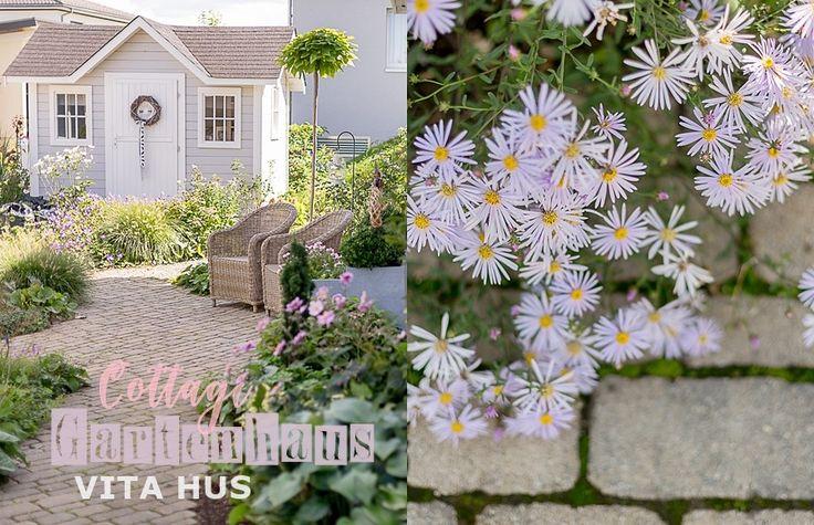 Skandinavisches Wohnen Wohnen In Weiss Shabby Chic Schwedenhaus Green Gate Cottage Garten Landhausgarten Holzhaus Lan Gartenhaus Garten Gartenhaus Weiss