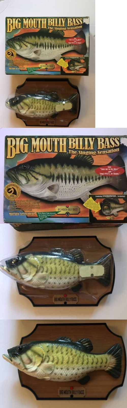 Novelties and Gifts 62143: Big Mouth Billy Bass Nib Singing Animated Fish Motion Acivated Gift Gemmy -> BUY IT NOW ONLY: $49.99 on eBay!
