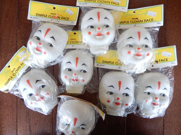 Craft Supplies Doll Faces