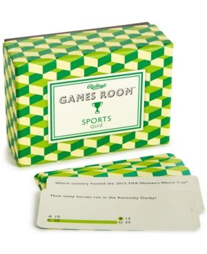 Ridley's Games Room Sports Quiz Usa - Green