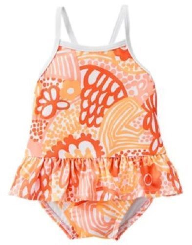 71f2b097bf2b1 NWT Gymboree 1-Piece Swim Bathing Suit Baby Girls Size 3-6 Month Orange  #Gymboree #OnePiece