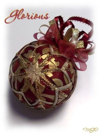 22 best burgundy and gold christmas ornaments images on for Maroon christmas tree decorations