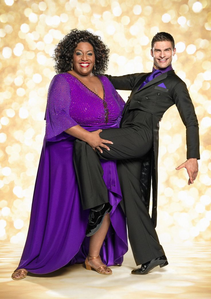 Alison Hammond and Aljaz skorjanec, strictly come dancing 2014 official photo