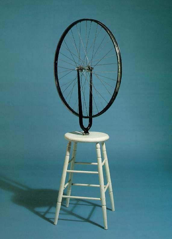 Marcel Duchamp: Bicycle Wheel