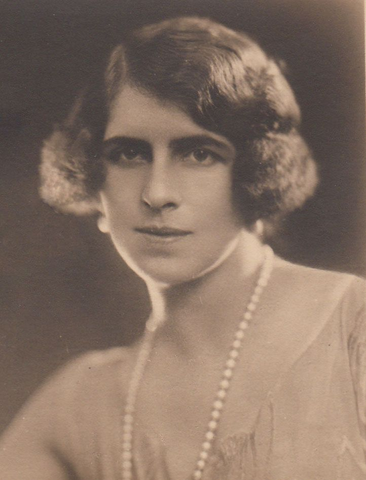 Princess Helen of Greece (1896--1982), 3rd child and 1st daughter of Queen Sophie of Greece.  Helen married Crown Prince Carol of Romania and became mother of Michael, last King of Romania.  Her older brother, King George II of Greece, was married to Carol's sister, Princess Elisabeth.
