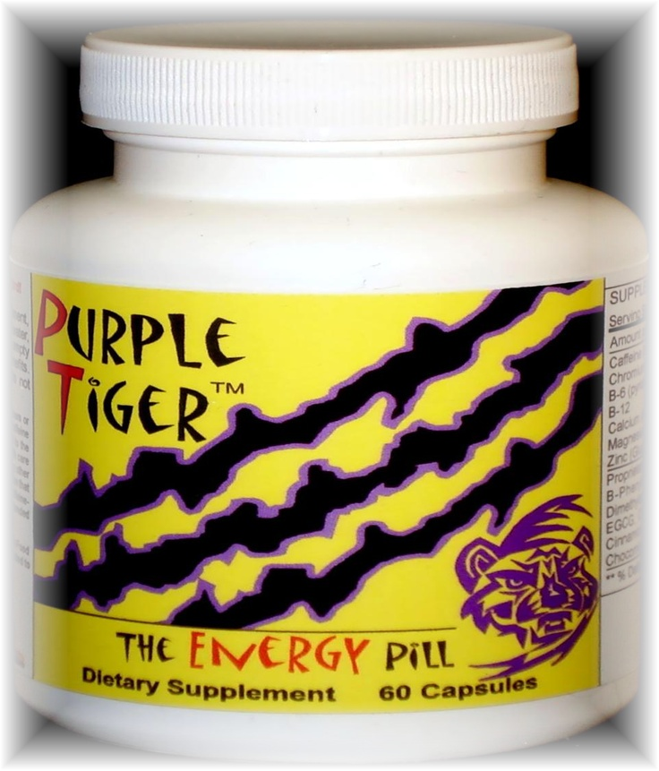 Purple Tiger Diet Pill