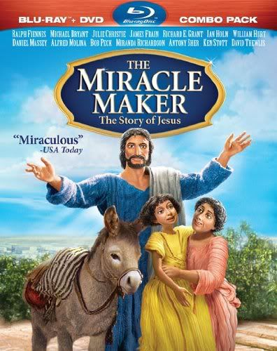 """""""Miracle Maker: The Story of Jesus"""" - Christian Movie/Film on Blu-ray. Check out Christian Film Database for more info - http://www.christianfilmdatabase.com/review/the-miracle-maker-the-story-of-jesus/"""