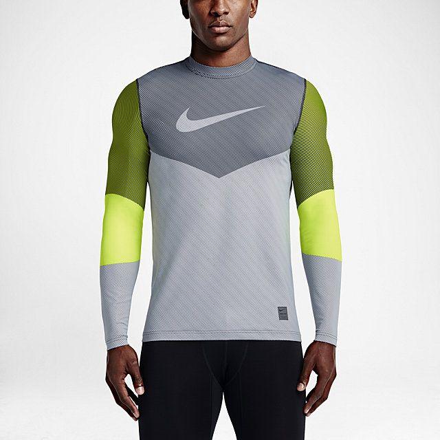 Nike Pro Hyperwarm Line Crew Fitted Men's Shirt.