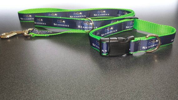 Check out this item in my Etsy shop https://www.etsy.com/listing/470418703/seattle-seahawks-collar-cat-or-small