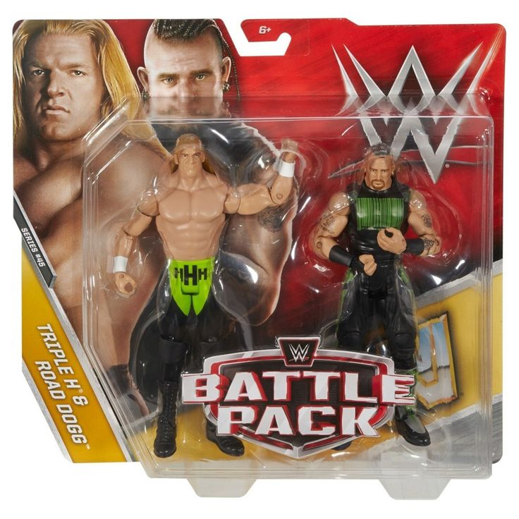 Wwe Triple H & Road Dogg Figure 2-Pack