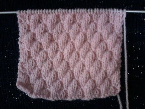 tuto point tricot : diagonales ( 4 ) vers la gauche . - YouTube