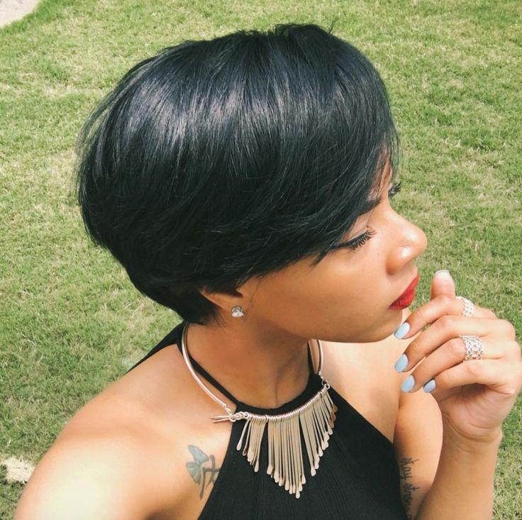 """Healthy hair be like..."" @xoxojenise - http://community.blackhairinformation.com/hairstyle-gallery/short-haircuts/healthy-hair-like-xoxojenise/"