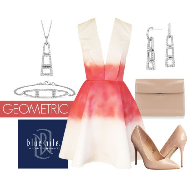 Geometric Jewelry by bluenile on Polyvore featuring Joana Almagro, Madden Girl, Marni and Blue Nile:
