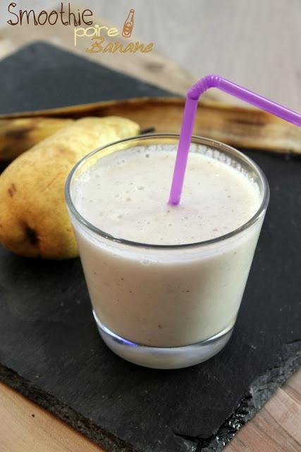 Smoothie Poire banane