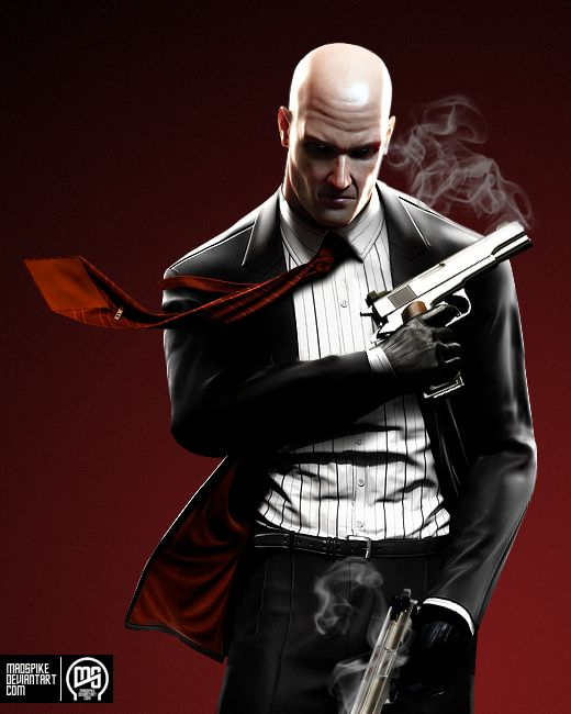 Hitman - Agent 47 by MadSpike on deviantART