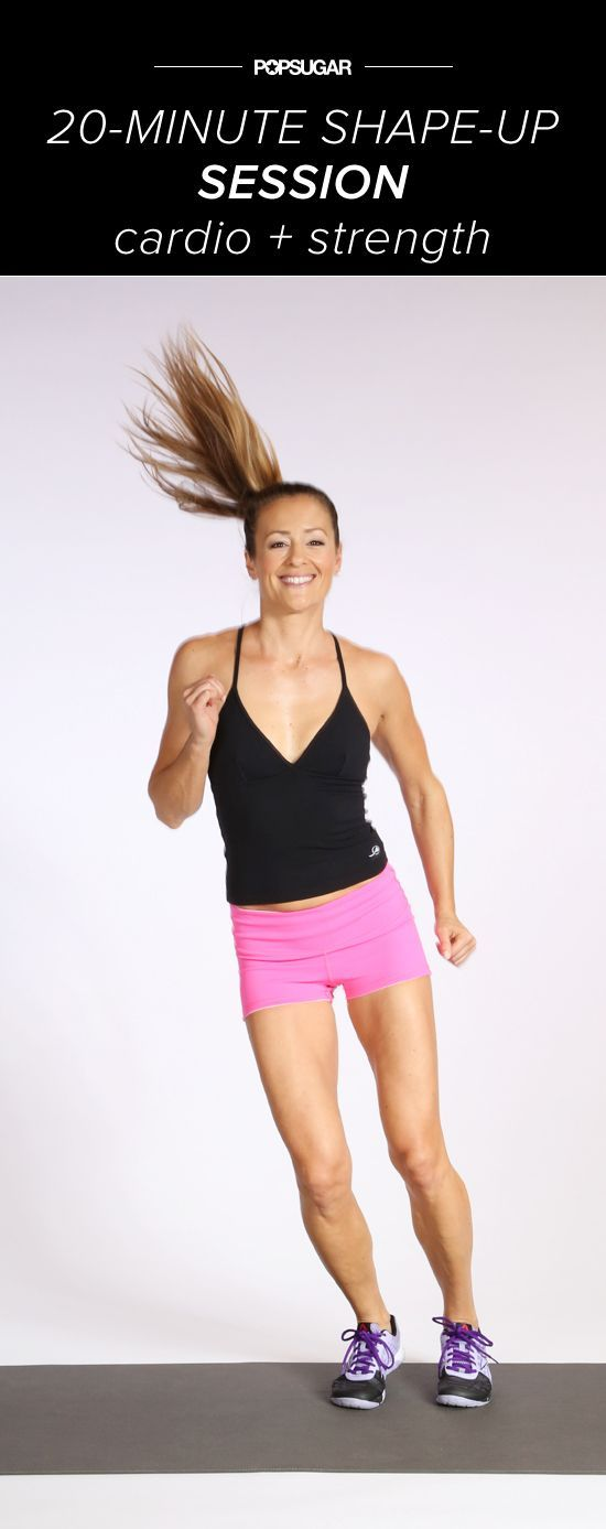 Do-Anywhere Bikini Prep: Cardio and Strength Mashup