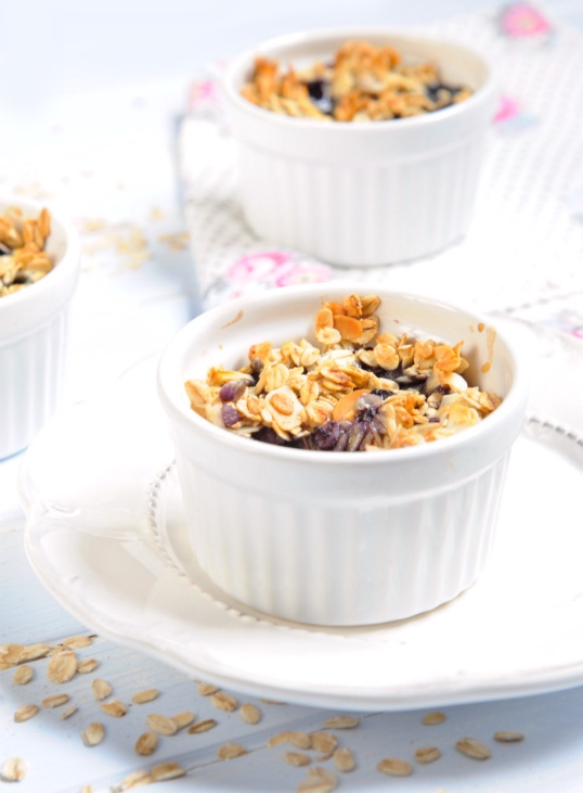 baked bluberry oatmeal