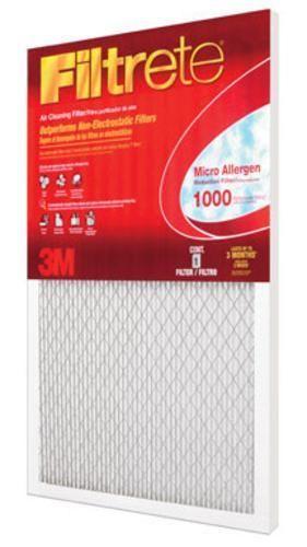 "3M 9800 Micro Allergen Electrostatic Air Filter, 16"" x 20"" x 1"""