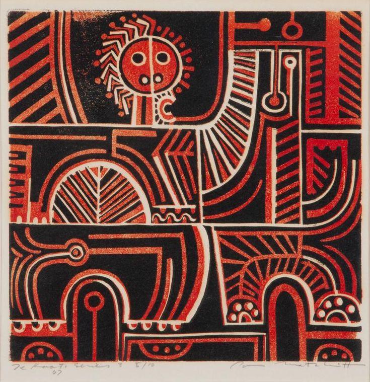 Te Kooti Series 3 //PARATENE MATCHITT