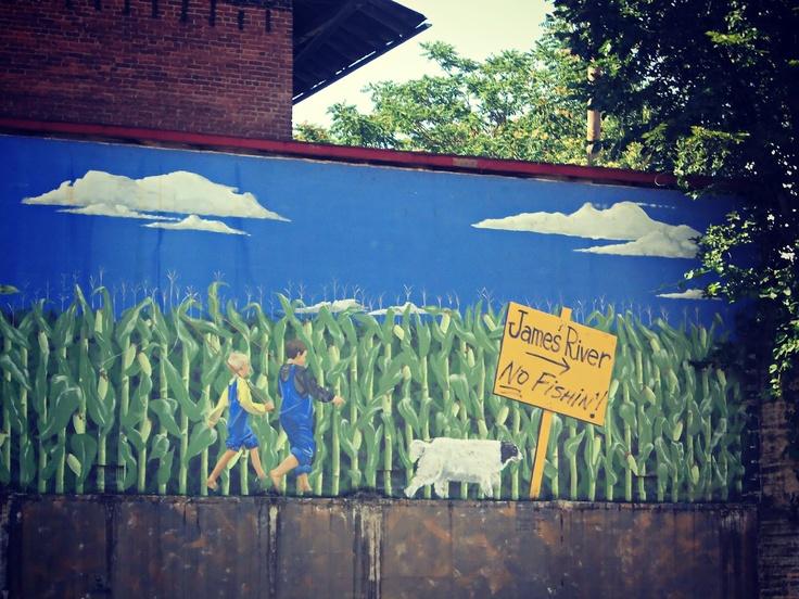 mural in lynchburg, va