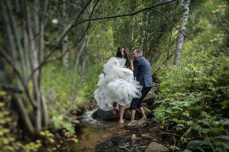 Amazing, candid wedding photos by top Denver wedding photographer Selah Photography.