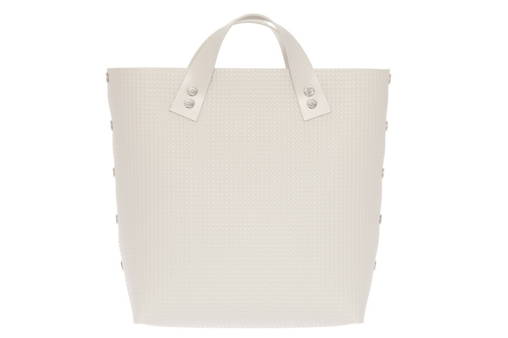 Bernarda Handbag TWO SHORT White