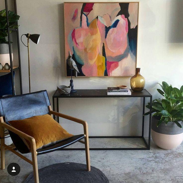 Our topaz velvet cushion looks mighty fine in the stylish setting in store now @establishedfordesign  #cushion #interiordesign #designer #decor #style #coca_mojo