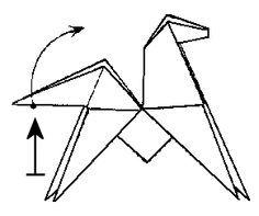 origami cheval