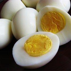 Perfecte hardgekookte eieren (écht perfect)