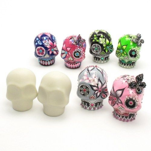 18 best sugar skull figurines images on pinterest sugar for Day of the dead craft supplies