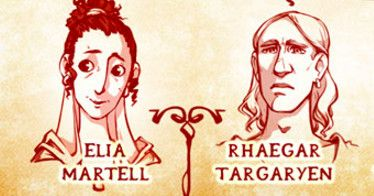 Unlock Jon Snow's Targaryen secrets with this gorgeous fan art of your favorite fictional ruling dynasty.