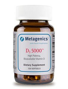 D3 5000 - Metagenics