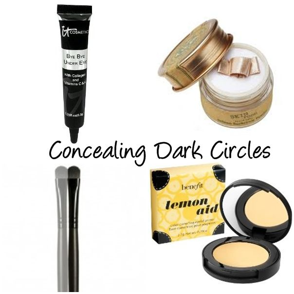 How to Conceal Dark Circles and Brighten Eyes
