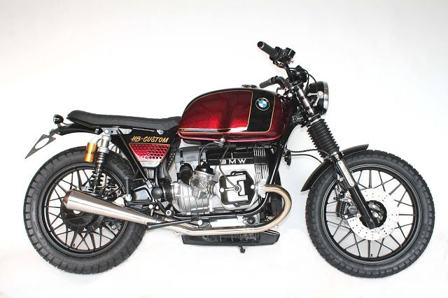 BMW R-Series Brat Style by Hb Custom #motorcycles #bratstyle #motos | caferacerpasion.com