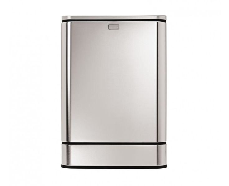 simplehuman | 40L rectangular steel sensor trash can