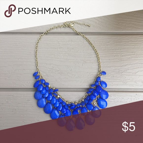 Blue Statement Necklace Blue gorgeous statement necklace Jewelry Necklaces