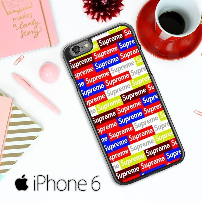 Supreme Wallpaper X4486 iPhone 6 / 6S Case