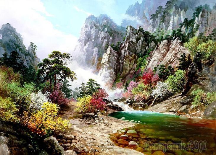 Корейская живопись. Чон Ён Джун – Jun Young Joon (전영준). Реализм