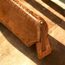 Savannah Leather Pencil Case