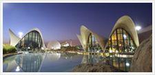 Musée des Sciences et Oceanografic Aquarium Valencia