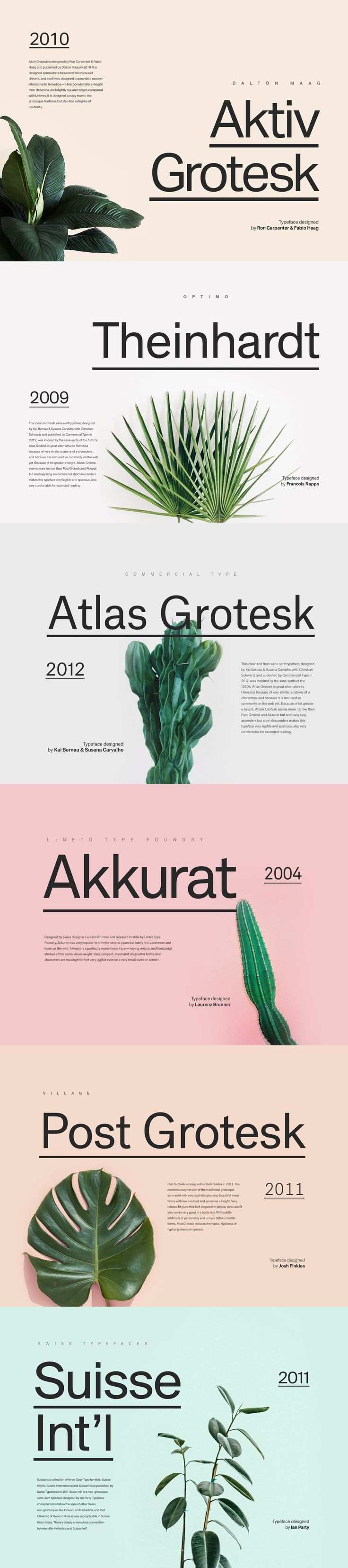 6 Great Contemporary Alternatives to Helvetica…                                                                                                                                                                                 More