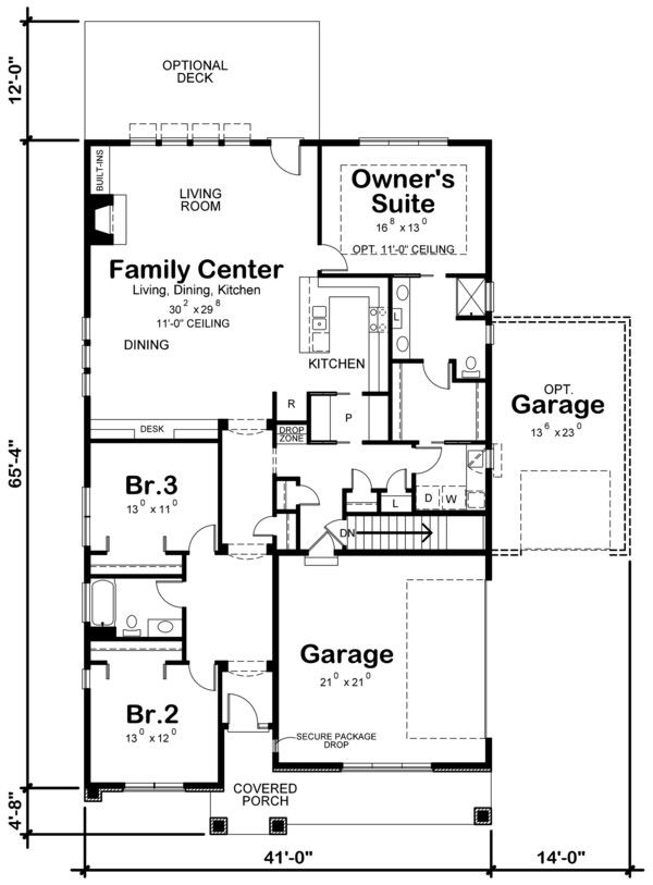 Ranch Style House Plan 3 Beds 2 Baths 2140 Sq Ft Plan 20 2331 Pool House Plans Ranch Style House Plans House Plans