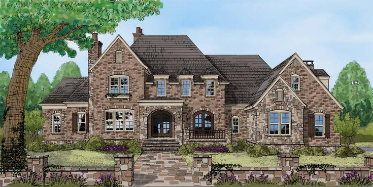 Impressive European House Plan - 740000LAH - 01