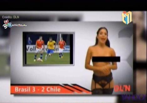 La Noticia Al Desnudo: Presentadoras Se Quitan Toda La Ropa Para Dar Sus Noticias #Video