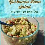 Simple Garbanzo Bean Salad